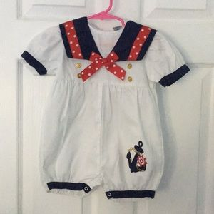 Other - Sailor nautical theme cruise jumper
